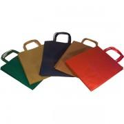 Borse in carta colorata Rex Sadoch SDF22-DAR - 334871 Formato 22x10x27 cm - Colore assortiti scuri - Confezione da 25 - SDF22-DAR