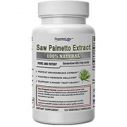 Superior Labs Saw Palmetto Extract 300mg 120 Vegetable Caps
