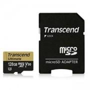 Памет Transcend 128GB microSDHC UHS-I U3M, MLC, TS128GUSDU3M
