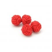 manșetă butoni (model 1) 7239 în roșu culoare