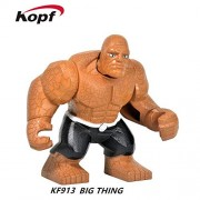 Generic Super Heroes Thor Ragnarok 76088 Hulk 7cm Big Size Grandmaster Loki Building Blocks Bricks Toys for Children XH 654 KF913