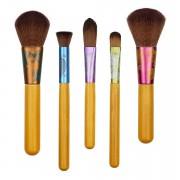Set 5 pensule profesionale machiaj EcoTools Fresh and Flawless