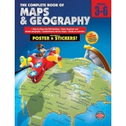 The Complete Book of Maps & Geography [With Poster], Paperback