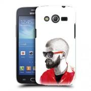 Husa Samsung Galaxy Core 4G LTE G386F Silicon Gel Tpu Model Abstract Man V2