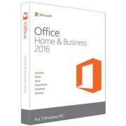Microsoft Office Home and Business 2016 32/64-BIT for 1 Windows PC - MLK -