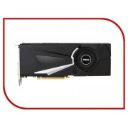 Видеокарта MSI GeForce GTX 1070 Ti 1607Mhz PCI-E 3.0 8192Mb 8008Mhz 256 bit DVI HDMI HDCP GTX 1070 Ti AERO 8G