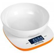 Електронна кухненска везна с купа INNOLIVING INN-132O - оранжева
