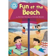 Reading Champion: Fun at the Beach. Independent Reading Blue 4, Paperback/Damian Harvey