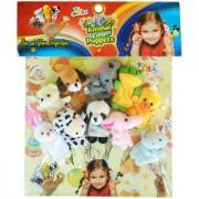 Animal Finger Puppets Set