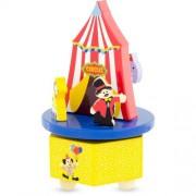 Spieluhr Zirkus aus Holz - music box Merry go round Circus Ulysse 3929