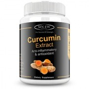 Sinew Nutrition Organic Turmeric Curcumin Extract 60 Veg Capsules (1400 mg / serve)