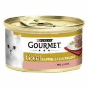Gourmet Megapack Gold Tartelette 48 x 85 g - Pack mixto (Buey, pollo, atún y salmón)