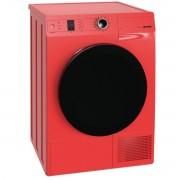 Uscator de rufe Gorenje Color D8565NR, SensorIQ, 8 Kg, Clasa A++, Condensare cu pompa de caldura, Rosu