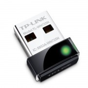 LAN Card, USB, TP-LINK TL-WN725N, Wireless-N, 150Mbps, Nano