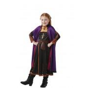 Rubies Disfraz de Anna de Frozen II para niña - Talla 3 a 4 años
