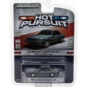 NEW 1:64 GREENLIGHT HOT PURSUIT SERIES 23 ASSORTMENT - 1991 FORD MUSTANG SSP - KENTUCKY STATE POLICE (GREY) Diecast Model Car By Greenlight