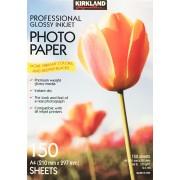 Kirkland 150 Professional A4 Glossy Inkjet Photo Paper