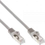 Cablu inline Patchcord SF/UTP Cat.5e, szary 0.5m (72550)