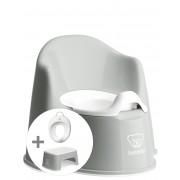 BABYBJÖRN Kit Apprentissage de la propreté - Gris/Blanc