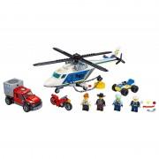 Urmarire cu elicopterul politiei LEGO City