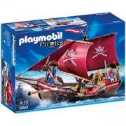 Комплект Плеймобил 6681 - Войнишка лодка с оръдие - Playmobil, 291224
