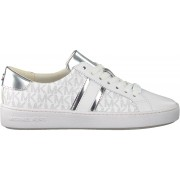 Michael Kors Witte Michael Kors Lage Sneakers Irving Stripe Lace Up