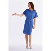 Potis & Verso Cobalt Blue Shift Occasion Dress