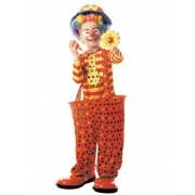Disfraz de payaso con aro niño 4-6 años (110 cm)
