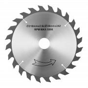 Lâmina para serra circular - 210 mm - 30 mm