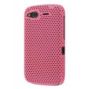 HTC Desire S Slim Mesh Case - HTC Hard Case (Baby Pink)