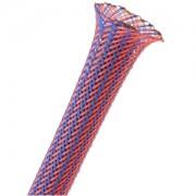 Sleeving Techflex Flexo PET Sleeve 3mm, blue/red, lungime 1m