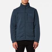 The North Face Men's Gordon Lyons Full Zip Fleece Jumper - Urban Navy Heather - XL - Blue
