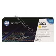 Тонер HP 307A за CP5225, Yellow (7.3K), p/n CE742A - Оригинален HP консуматив - тонер касета