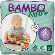Bambo Nature Maxi 7-18 kg 30 Count Size 4
