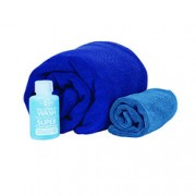Sea to Summit Tek Towel Wash Kit Lge Cobalt