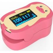 Pulsoximetru RedLine FS20P pentru copii 2-12 ani Roz Indica nivelul de saturatie a oxigenului din sange