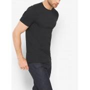 MK Cotton Crewneck T-Shirt - Black - Michael Kors