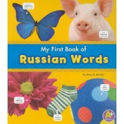 My First Book of Russian Words, Paperback