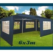 Zahradní párty stan Deu modrý, 3 x 6 m