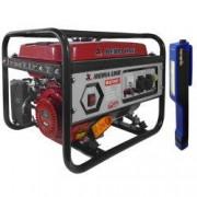 Generator curentMEDIA LINE MLG 2500/1 2.2KVA motor termic 6.5 CP monofazat + CADOU 1x Lanterna LED magnetica AgroPro