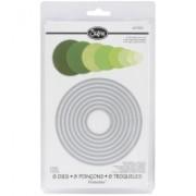 Sizzix sablon de taiere Circles (657551)
