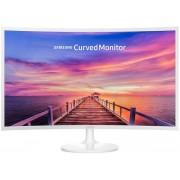 "Monitor VA LED Samsung 31.5"" LC32F391FWUXEN, Full HD (1920 x 1080), HDMI, DisplayPort, 4 ms, Ecran Curbat (Alb)"