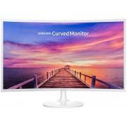 "Monitor VA LED Samsung 31.5"" LC32F391FWUXEN, Full HD (1920 x 1080), HDMI, DisplayPort, 4 ms, Ecran Curbat (Alb)"