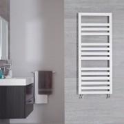 Hudson Reed Sèche-serviettes Blanc Design Ponza - 120cm x 50m