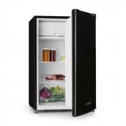 Klarstein Samara, hűtőszekrény, 120 l, zöldségtároló fiók, A+ osztály, fekete ()