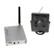 Система за видеонаблюдение с мини камерас и ir осветление