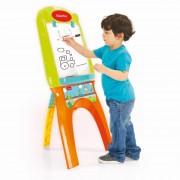 Tabla magnetica pentru copii, 21 de accesorii, 107 x 47 x 56 cm, 3 ani+