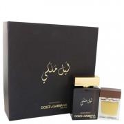 Dolce & Gabbana The One Royal Night EDP Spray 3.3 oz / 97.59 mL + EDT Spray 1 oz / 29.57 mL Gift Set Men's Fragrance 541338