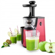 oneConcept Jimmie Andrews SlowJuicer Estrattore di Succhi 400W Rosso