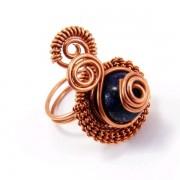 Lápisz lazuli gyűrű #103